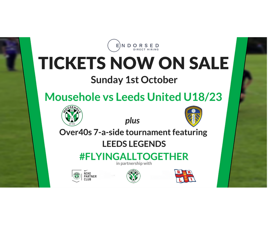 Tickets Mousehole Vs Leeds United