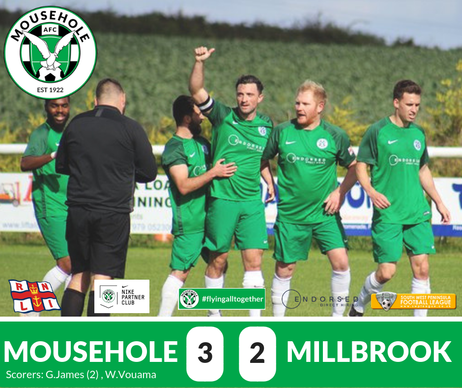 match report mousehole vs millbrook senior cup 2018