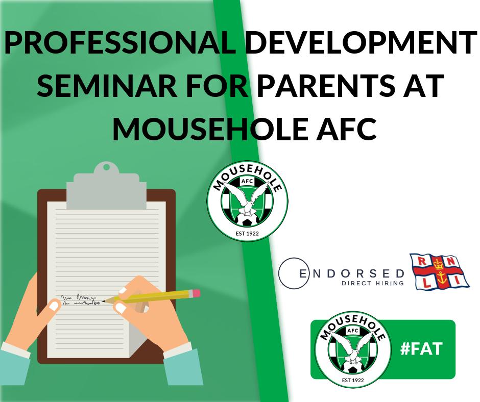 prof development seminar mousehole afc