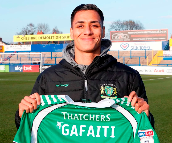 Adel Gafaiti joins Yeovil from Mousehole AFC
