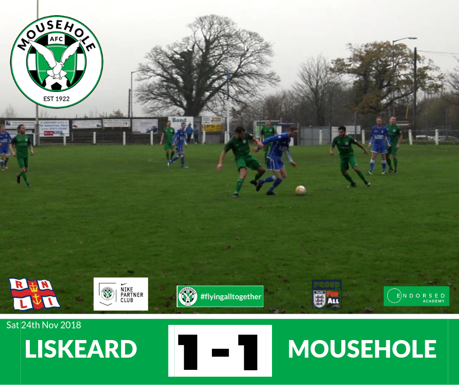 liskeard 1-1 Mousehole 24 Nov 2018