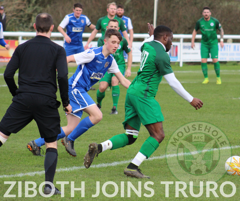 ZIBOTH JOINS TRURO from MOUSEHOLE AFC