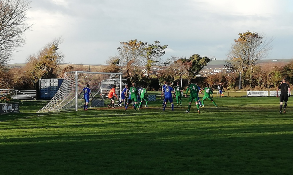 bude town versus mousehole afc