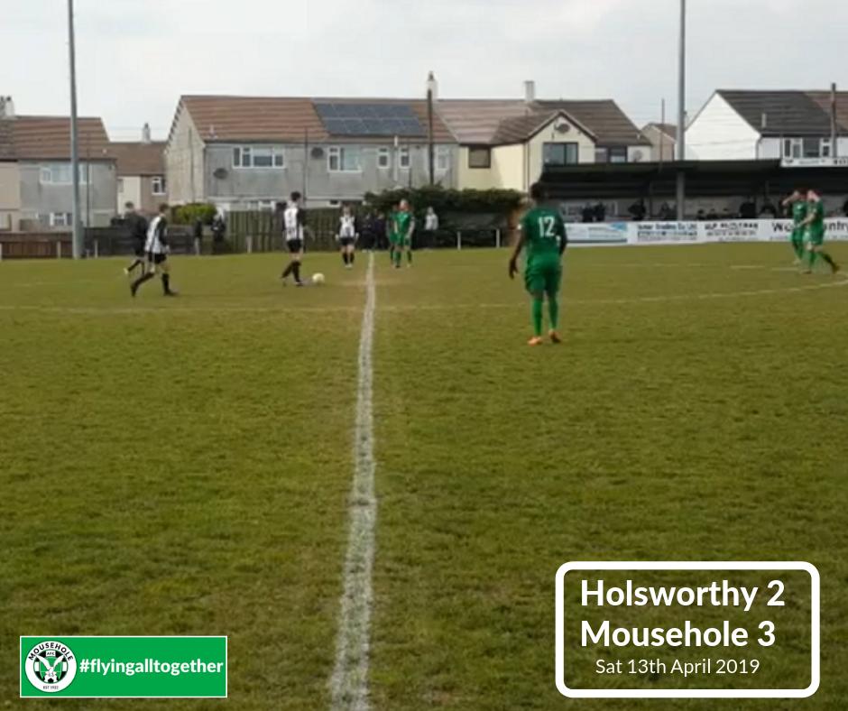 Holsworthy 2 Mousehole 3 | 13 April 2019
