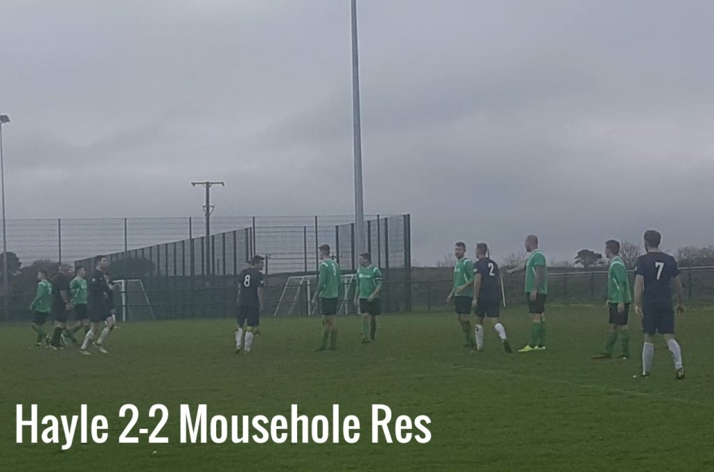 Hayle vs Mousehole Reserves November 2019