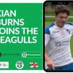 Kian Burns signs for Mousehole AFC