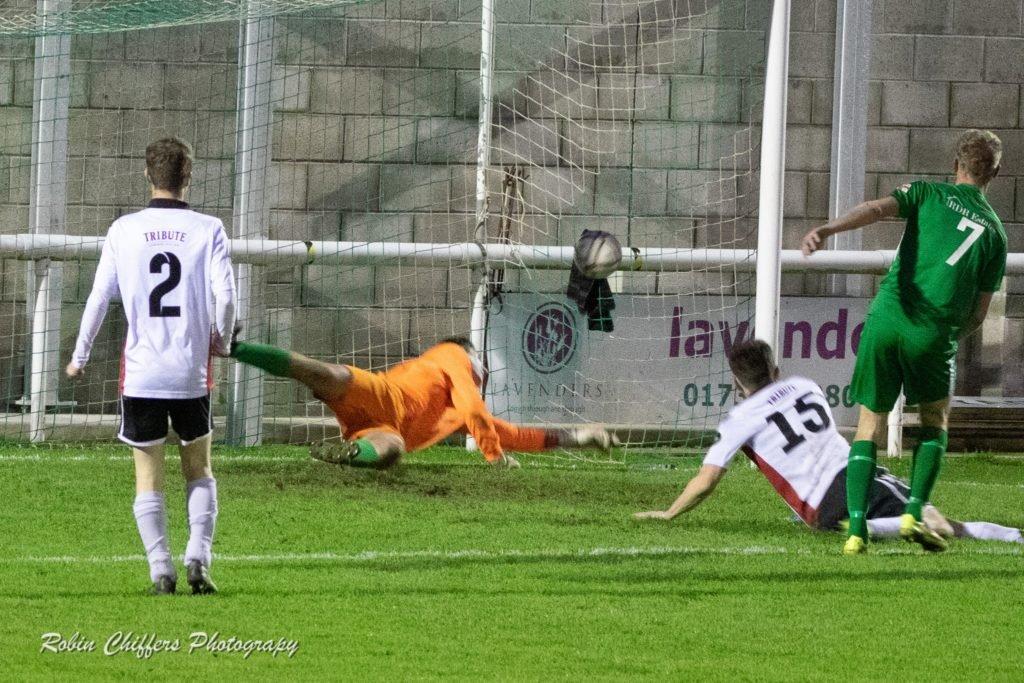 Mark Goldsworthy debut goal vs St Austell