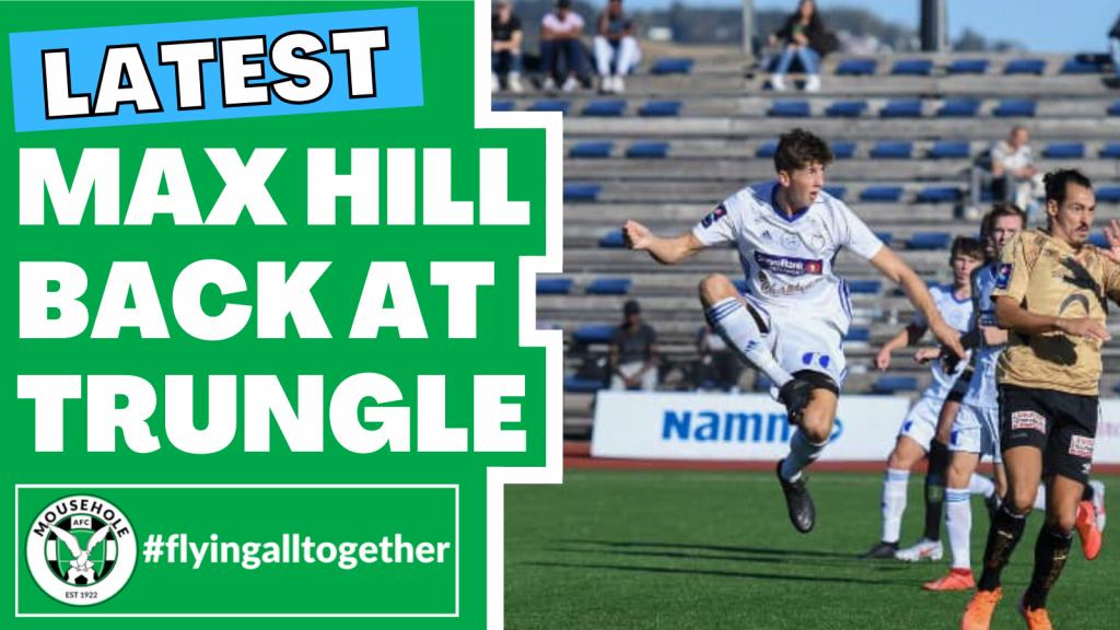Max Hill rejoins Mousehole AFC